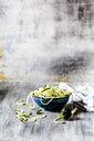 Zoodles, spiralized zucchini - SBDF03945