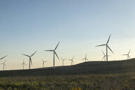Spain, Andalusia, wind turbines - KBF00607