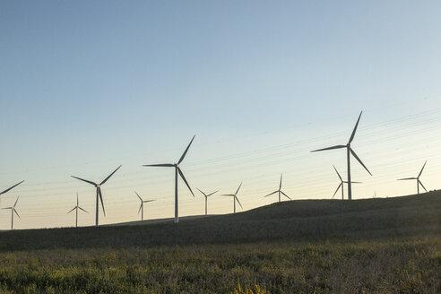 Spain, Andalusia, wind turbines - KBF00607