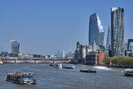 UK, London, River Thames and skyline - MR01974