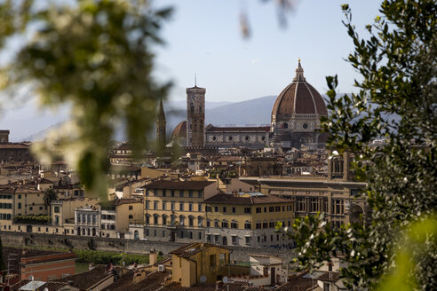 View to Florence cathedral, Florence, Italy - MAUF02447