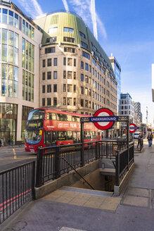 UK, London, City of London, Liverpool Street, underground exit - TAM01480