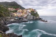 Manorola, Cinque Terre, Ligurian Riviera,  La Spezia Province, Italy - STSF01977