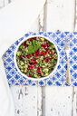 Bulgur herbs tabbouleh with pomegranate seeds - LVF08053