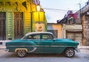 Parked vintage car, Havana, Cuba - HSIF00616