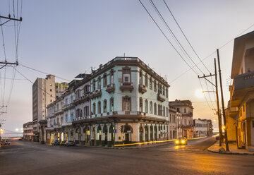 City view at twilight, Havana, Cuba - HSIF00622