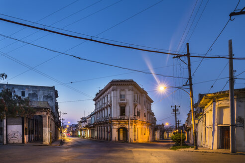 Empty streets, Havana, Cuba - HSIF00628