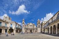 View to Havana Cathedral, Havana, Cuba - HSIF00634