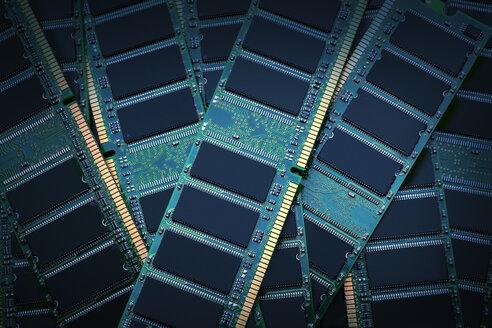 Pile of RAM modules - BLEF04092