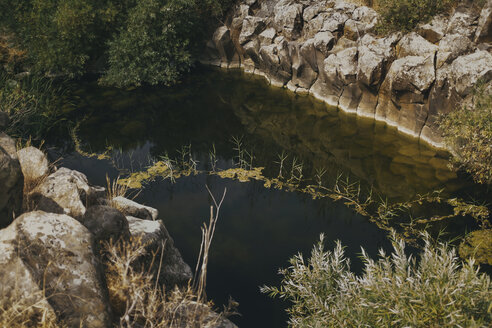A pond in a canyon, Yehudiya Reserve, Golan, Israel - GCF00255