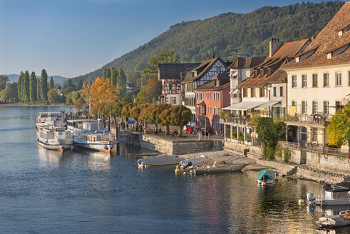 Stein am Rhein in autumn, Schaffhausen, Switzerland - SH02179