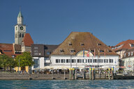 Minster and Greth seen from the water, Ueberlingen, Lake Constance, Germany - SH02188