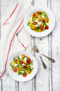 Zoodles salad with tomatoes, Buffalo Mozzarella and basil - LVF08061