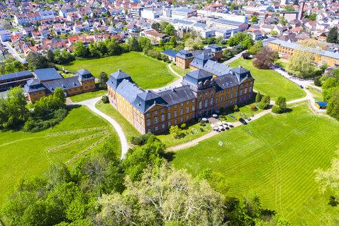 View of Loewenstein Castle, Kleinheubach, Bavaria, Germany - AMF07044