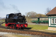 Narrow Gauge Railway, 'Rasender Roland', Putbus, Ruegen, Germany - WI03929