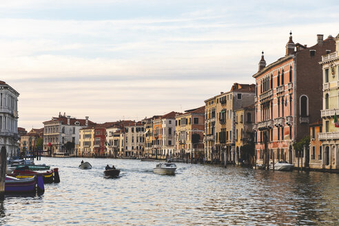 Canal Grande at sunset, Venice, Italy - WPEF01555