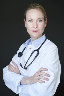 Portrait of confident female doctor - PNEF01507
