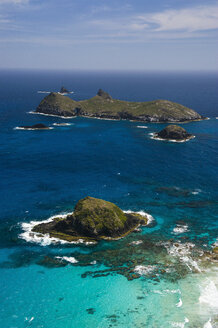 View from Malabar Hill on some little islet at Lord Howe Island, New South Wales, Australia - RUNF02189