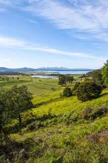 Overlook over the East coast of Tasmania, Australia - RUNF02192