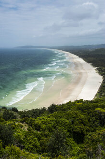 Beach south from the Lighthouse, Byron Bay, New South Wales, Australia - RUNF02202