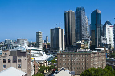 Skyline of Sydney, New South Wales, Australia - RUNF02214