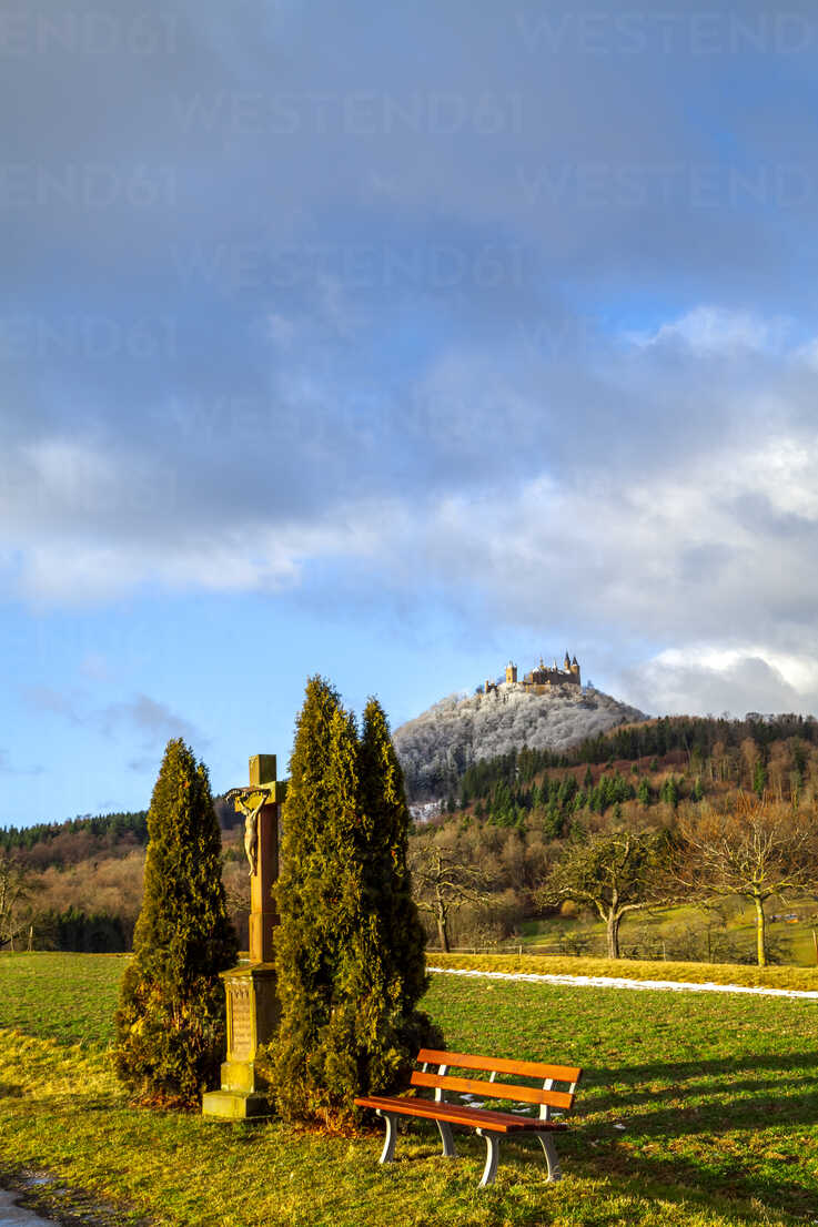 View to Hohenzollern Castle, Bisingen, Germany - PUF01548 - pure.passion.photography/Westend61