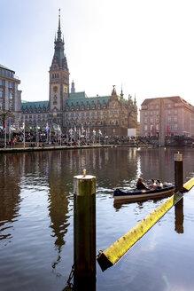 View to city hall, Hamburg, Germany - PUF01569