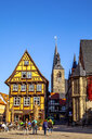 Historic old town, Quedlinburg, Germany - PU01608