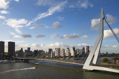 Erasmusbr�cke, Rotterdam, S�dholland, Niederlande, - LHF00644