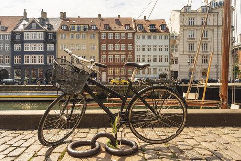 Bike at Nyhavn, Copenhagen, Denmark - TAMF01522