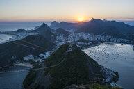 View from the Sugarloaf Mountain, Rio de Janeiro, Brazil - RUNF02387