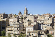 View to Ragusa Superiore with the cathedral, Ragusa, Sicily, Italy - MAMF00731