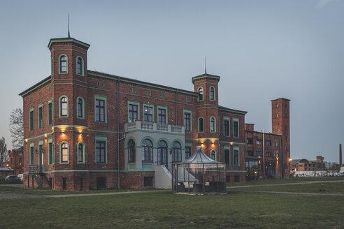 Historical oil mill at dsuk, Wittenberge, Brandenburg, Germany - KEBF01227