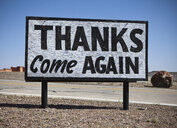Appreciative Road Sign - MINF11105