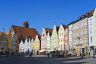 Old town and Church of the Holy Spirit, Landshut, Bavaria, Germany - SIEF08651