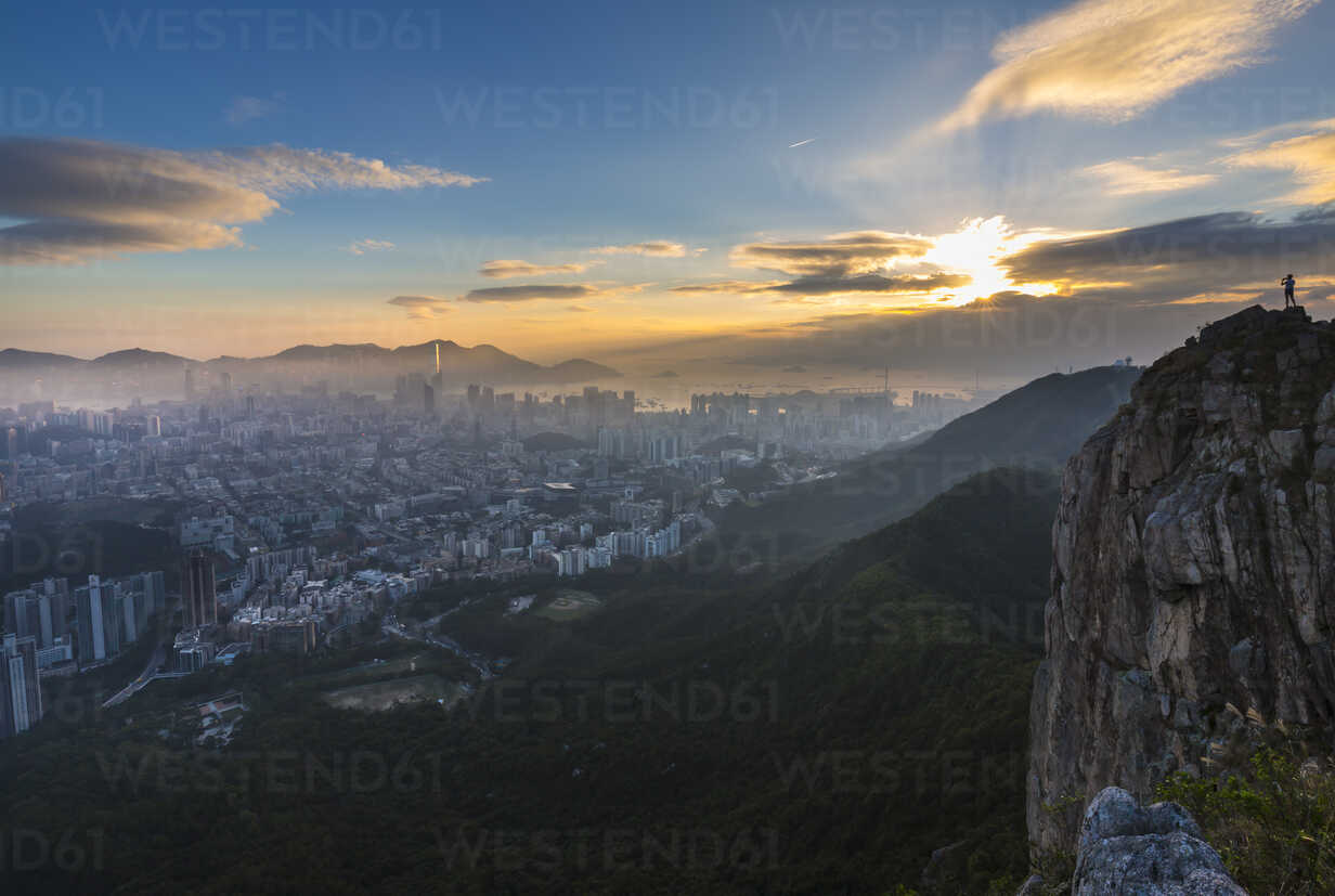 Lion Rock Country Park and Kowloon, Hong Kong, China - HSIF00656 - hsimages/Westend61
