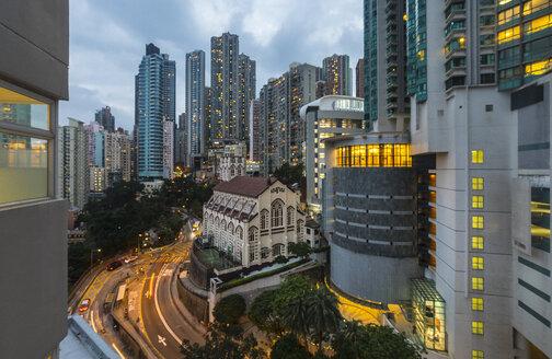 Hong Kong Mid-Levels, Hop Yat church, Hong Kong, China - HSIF00674
