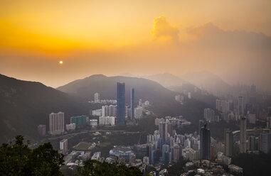 Central Hong Kong skyline, Hong Kong, China - HSIF00695
