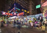 Ladies' Market at night, Hong Kong, China - HSIF00701