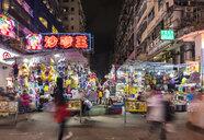 Ladies' Market at night, Hong Kong, China - HSIF00704