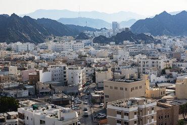 Cityscape, Matrah, Muscat, Oman - WWF05104