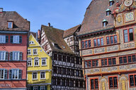 Timber-framed houses in the old town, Tuebingen, Baden-Wuerttemberg, Germany - MRF02004