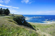 View from the cliff top over the Kaikoura Peninsula, South island, New Zealand - RUNF02589