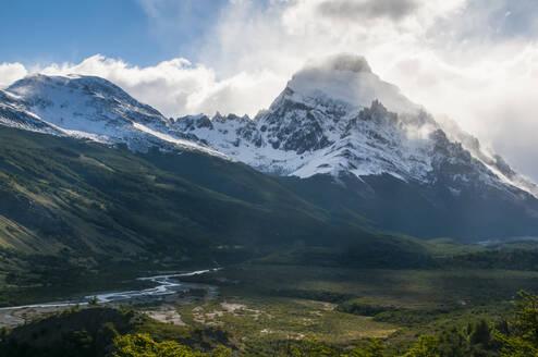 Mount Fitz Roy near El Chalten, Argentina, South America - RUNF02744