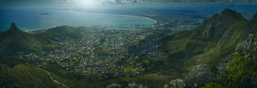 Aerial view of Cape Town, Western Cape, South Africa - BLEF07382