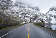 Empty road and road tunnel in Norway - RJF00822
