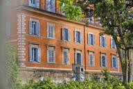 Facade of a house, Rome, Italy - MRF02030