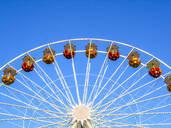 Ferris wheel under blue sky - PUF01650