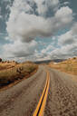 Landscape with rural road, Exeter, California, USA - ISF21719