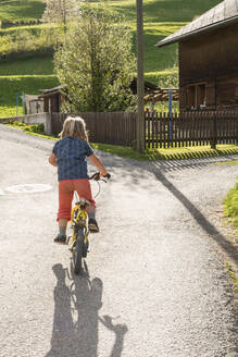 necker, switzerland,family and life of farmers, from father to son from mother to daughter learn how to become farmers - FBAF00761